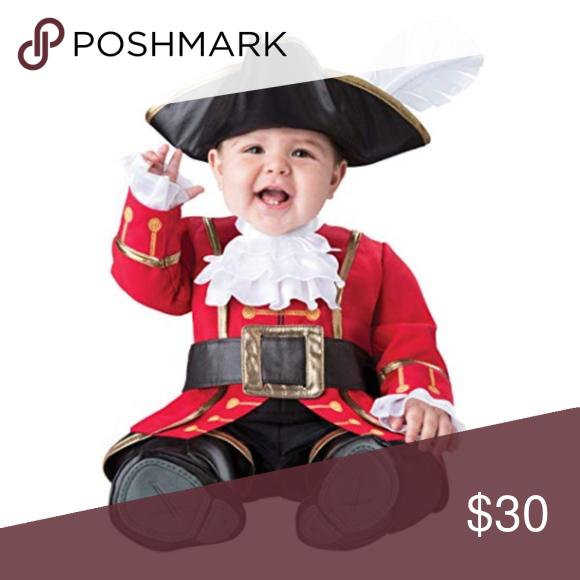 Incharacter Captain Cuteness Hook Costume 12 18m Captain Hook Costume Cute Costumes