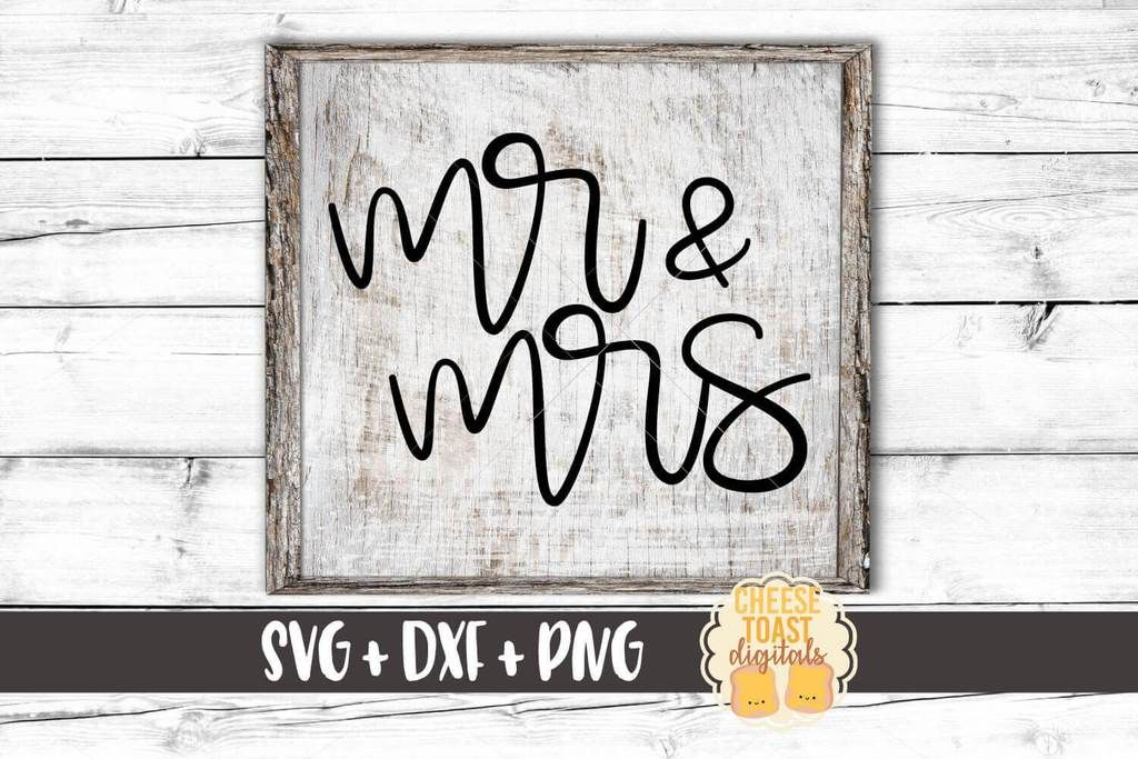Mr and Mrs (With images) Hand lettered svg, Coffee svg