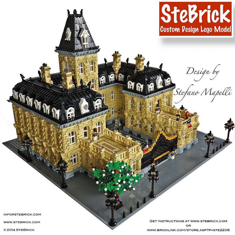 lego friends cinderella castle instructions