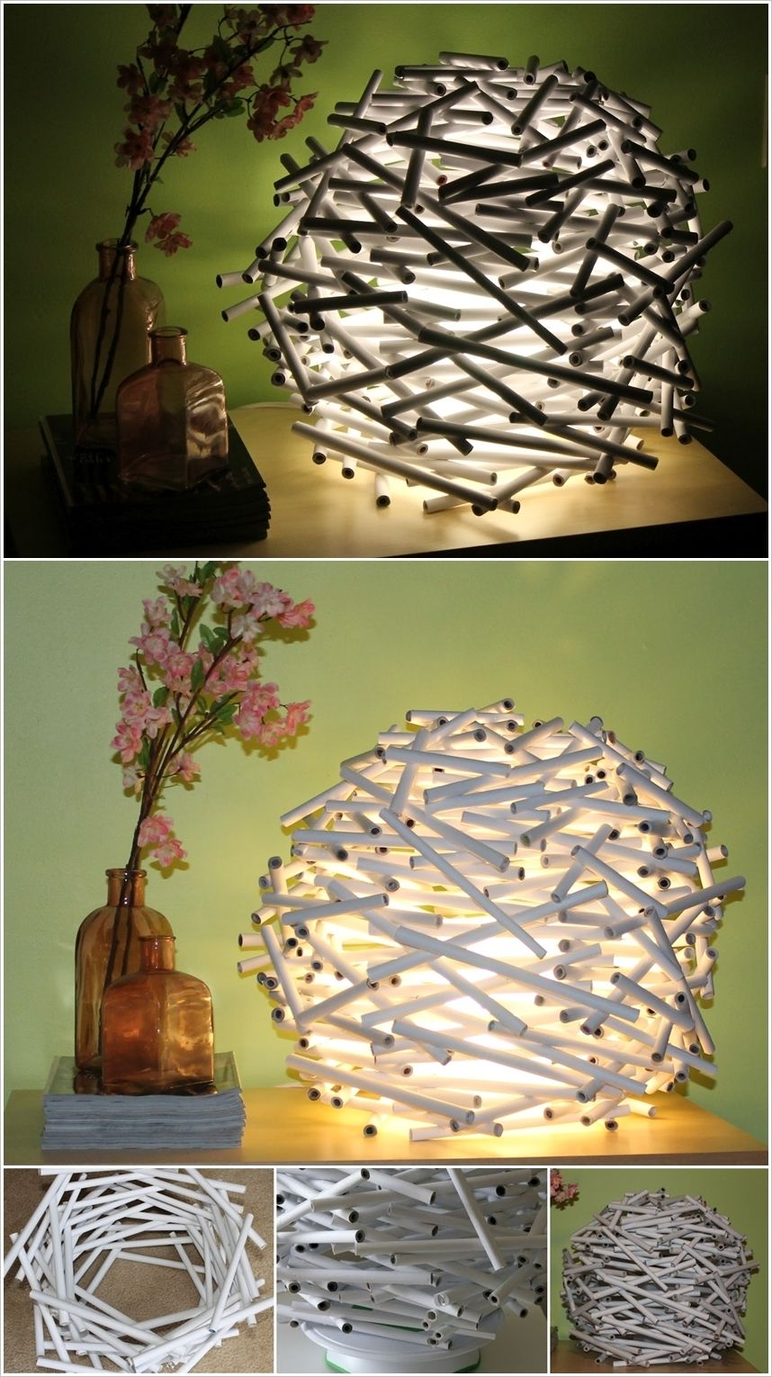 20 Amazing Diy Paper Lanterns And Lamps Architecture Design Paper Lanterns Diy Diy Lanterns Diy Lamp Shade