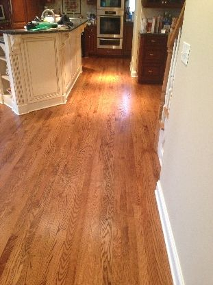 Red Oak With Early American Stain And Uv Finish Kashian Bros Carpet Flooring