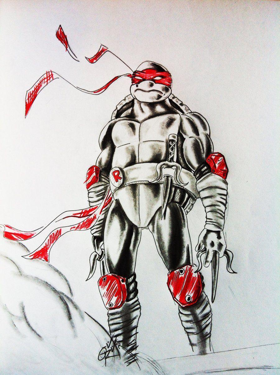 Raphael Tmnt By Odrozz On Deviantart Teenage Mutant Ninja