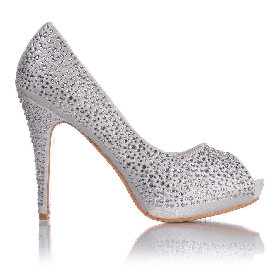 Szpilki Do Slubu Sandaly Slubne Koronkowe Biale Poleca Sklep Z Butami Styloweobcasy Pl Wedding Shoe Shoes Fashion
