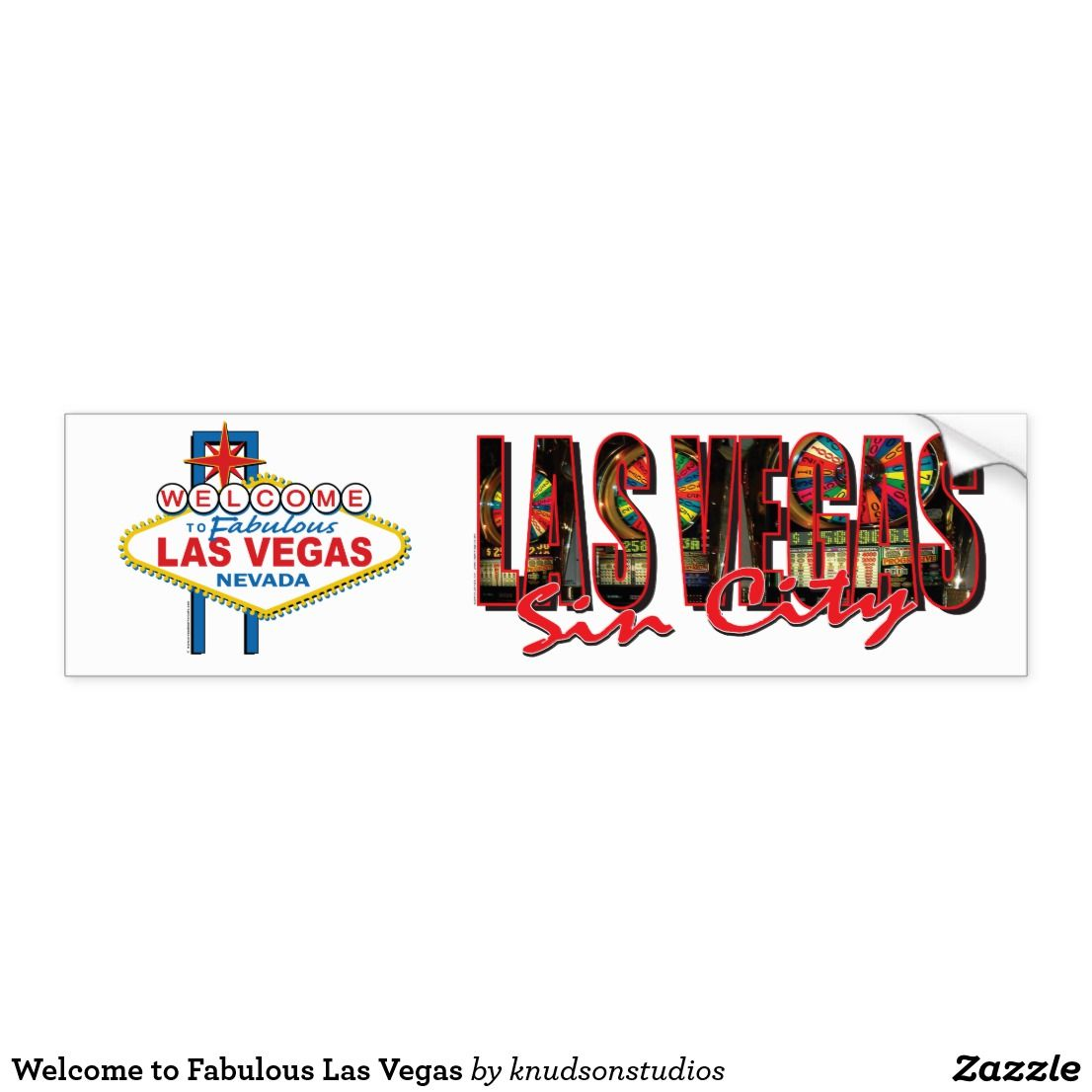 Welcome To Fabulous Las Vegas Bumper Sticker Zazzle Com Bumper Stickers Las Vegas Strong Adhesive [ 1106 x 1106 Pixel ]