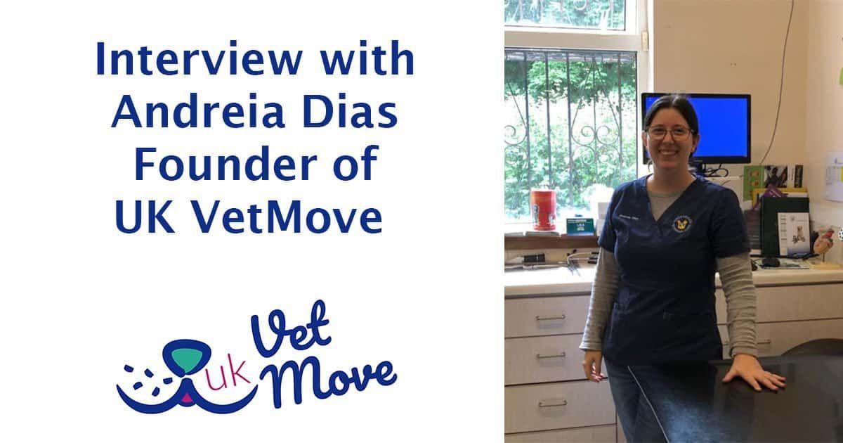 Interview With Andreia Dias Uk Vetmove I Love Veterinary Veterinary Interview Vet Student