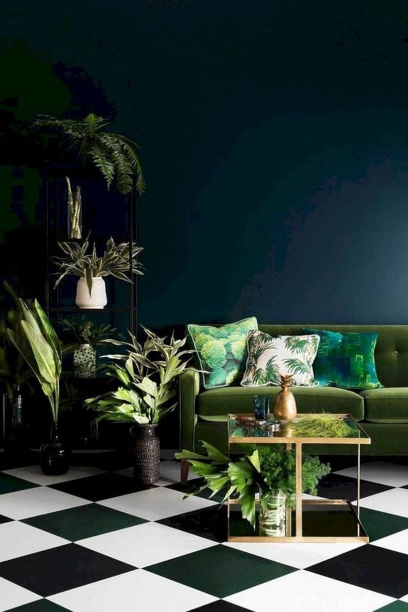 25 Fall Emerald Home Decoration To Copy Now #dunkleinnenräume