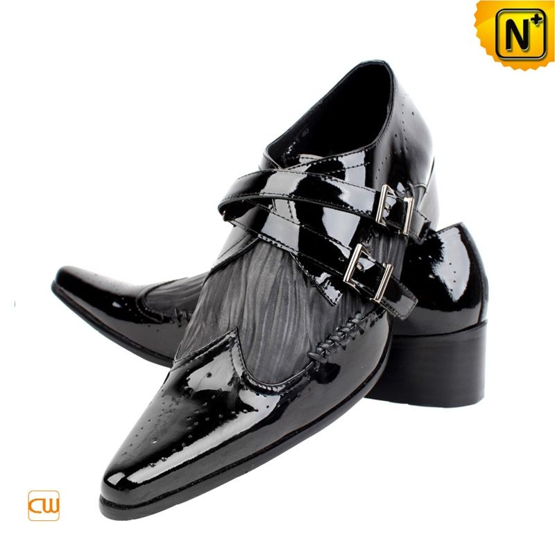 Men's Designer Shoes | Men's Designer Black Leather Dress Shoes ...