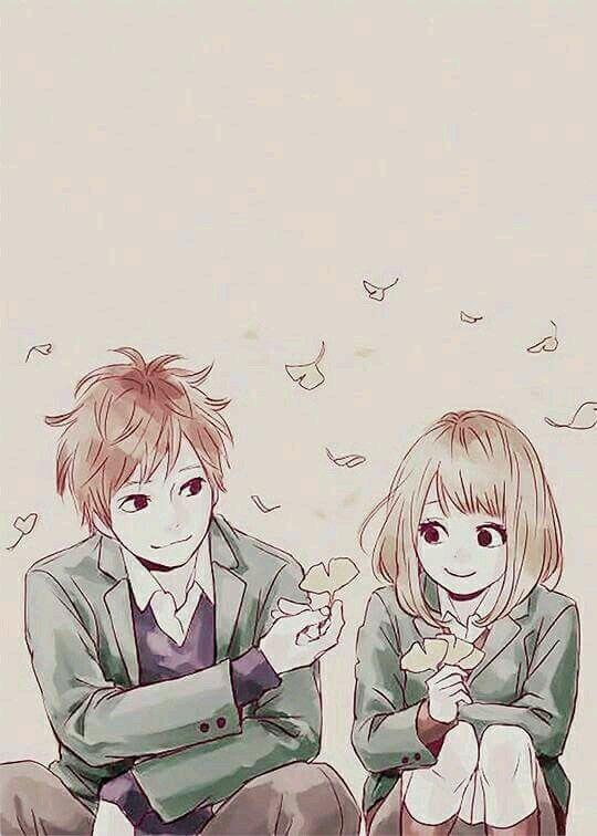 Pin By Utsukushi On Dễ Thương Anime Orange Anime Anime Wallpaper