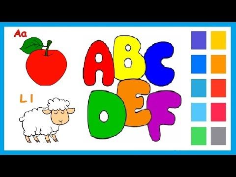Abc Coloring Pages Learn English Alphabet Abc Coloring Pages Learn English Alphabet Abc Coloring