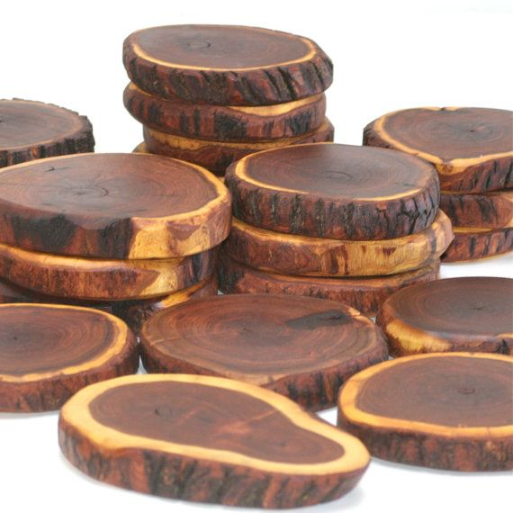 Mesquite Wood Coasters Trivets Set Of 6 On Etsy 52 00