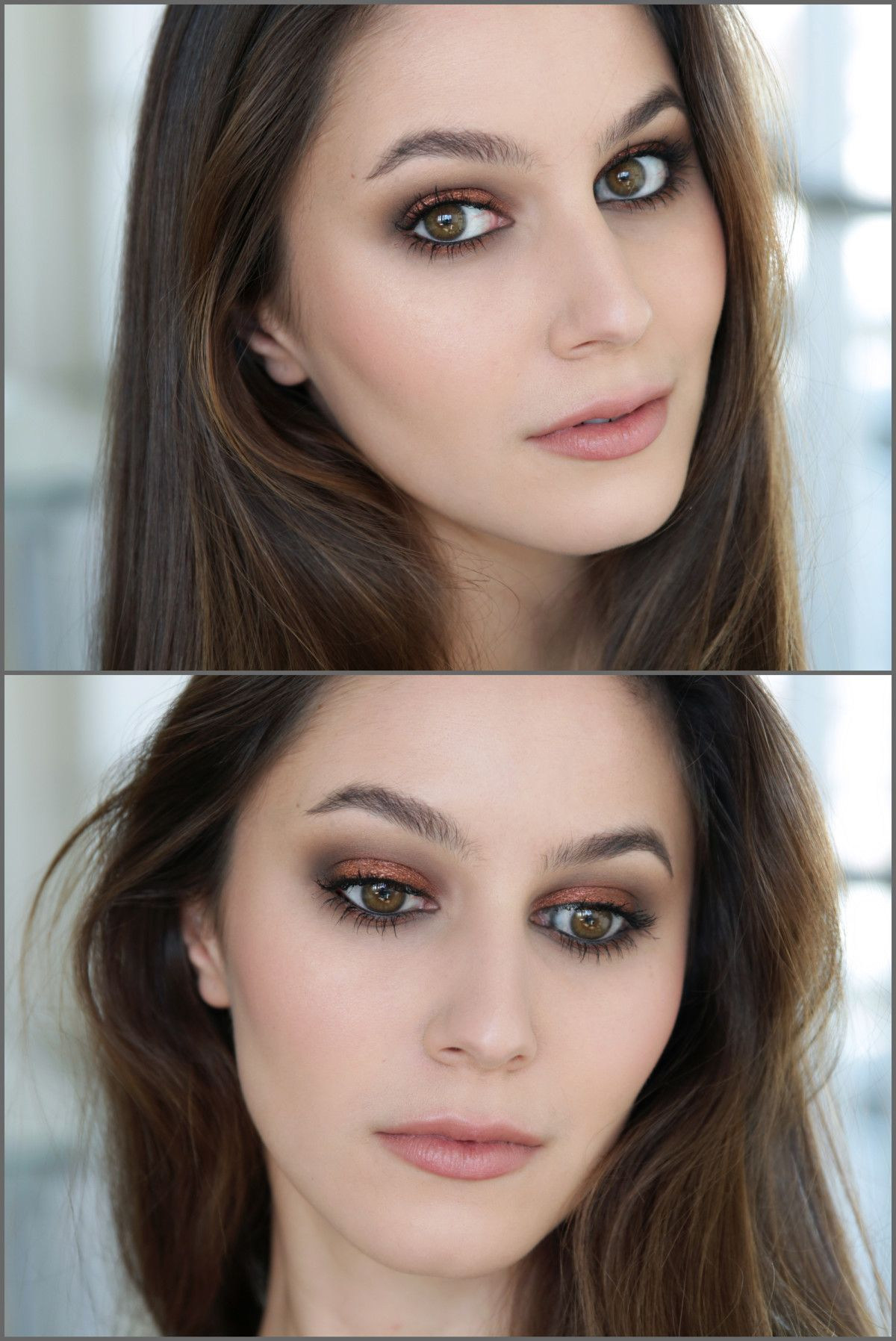 Copper Smokey Eyes Early Fall Makeup Look: Chatty Tutorial! Becca Ombre