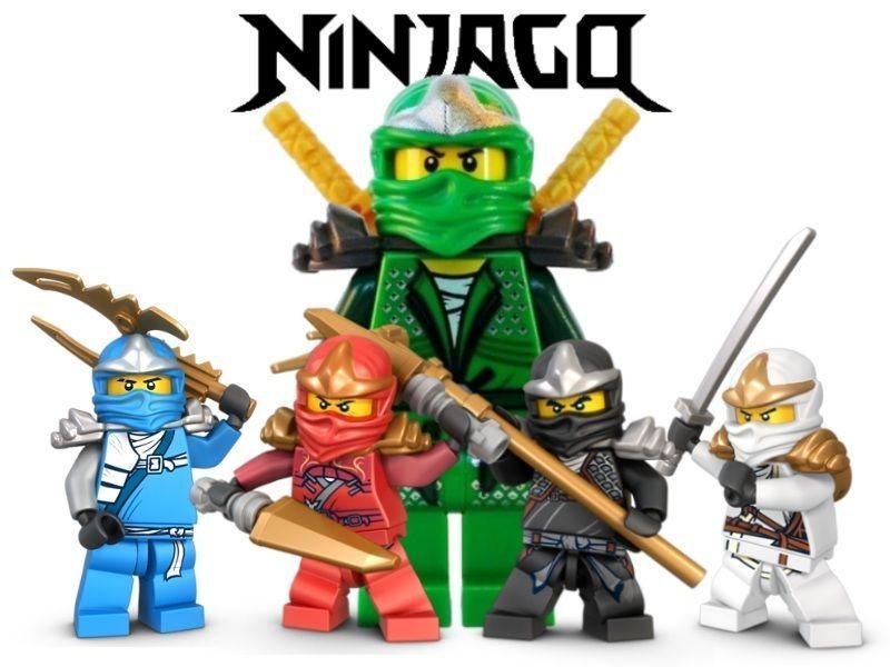 Ninjago White Ninja Edible Image Cake Topper 1 4 Sheet Cup