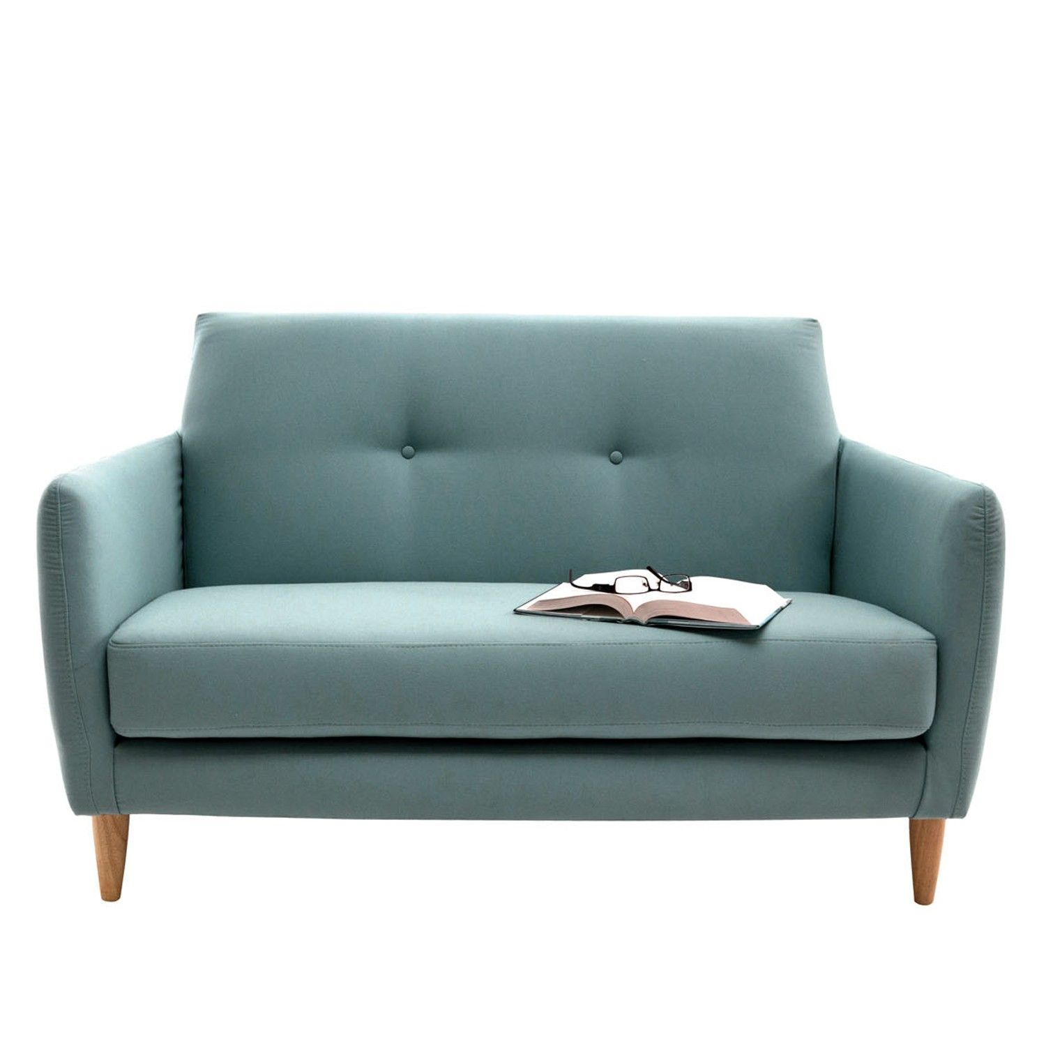 Torvi TwoSeater Sofa Solid pine Scandinavian style and Settees