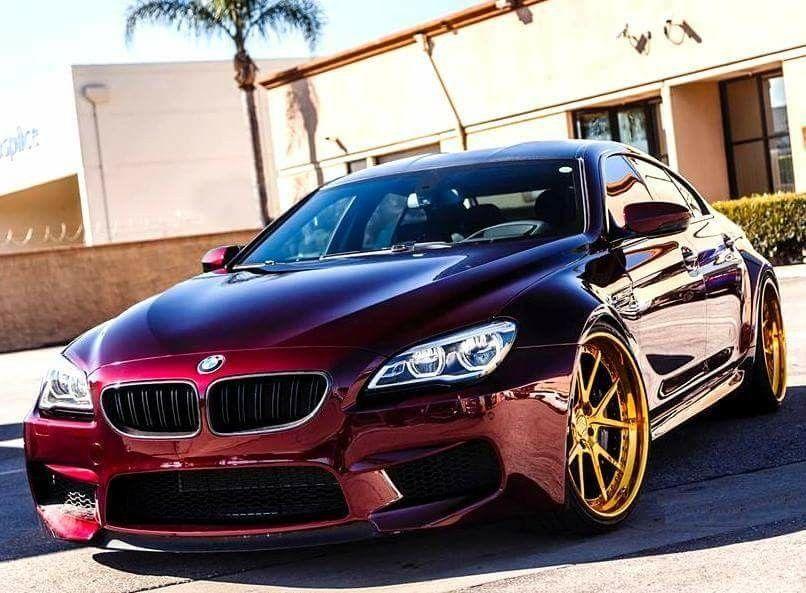 Bmw F06 M6 Gran Coupe Burgundy Bmw Bmw Wheels Bmw M6