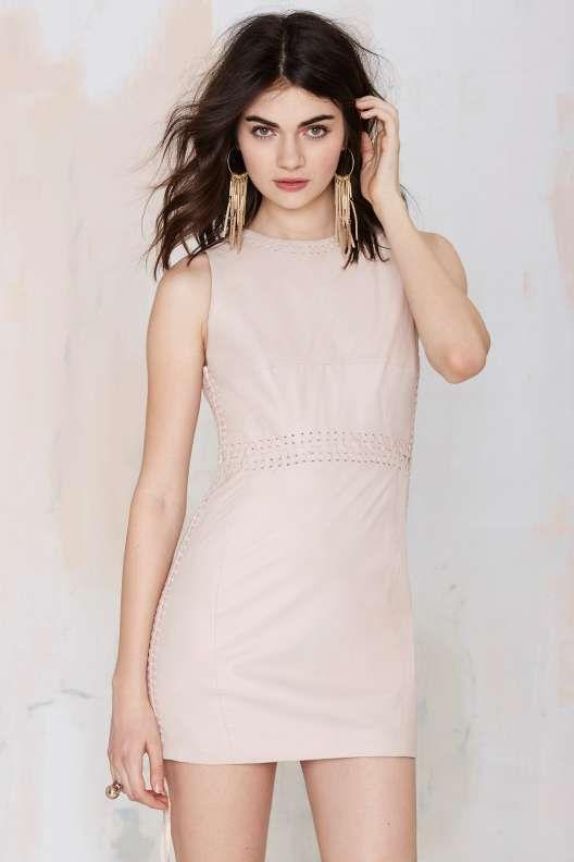 Nasty Gal Sha Na Na Leather Dress - Dresses