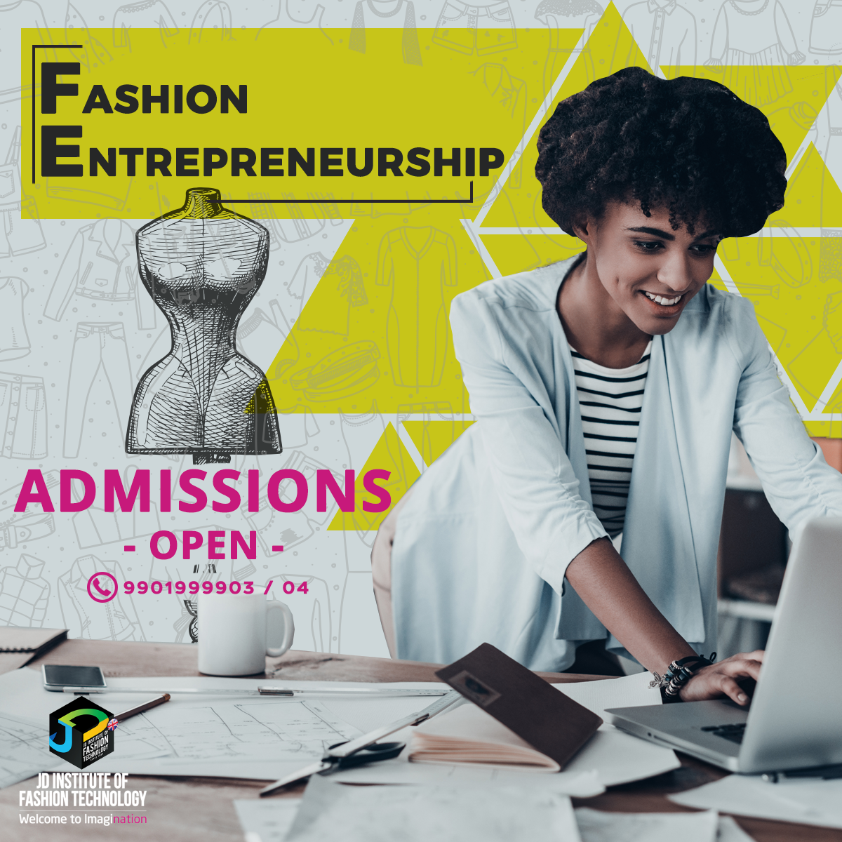 Pg Diploma In Fashion Communication 2 Years With Images Fashion Communication Technology Fashion Entrepreneurship