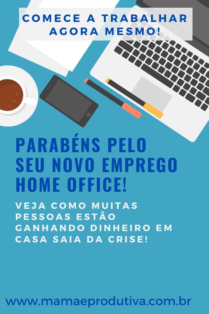 Emprego de Home Office
