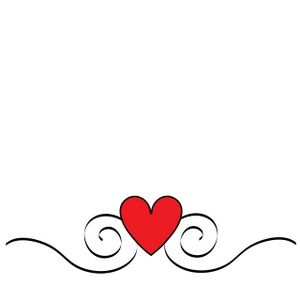 heart clipart image pretty heart graphic with swirls printables rh pinterest com tiny heart clipart free small heart clip art free