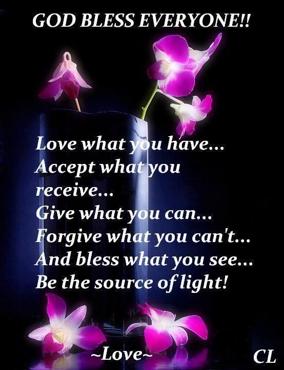 Quotes About God Blessing Us God Bless Everyone Gods