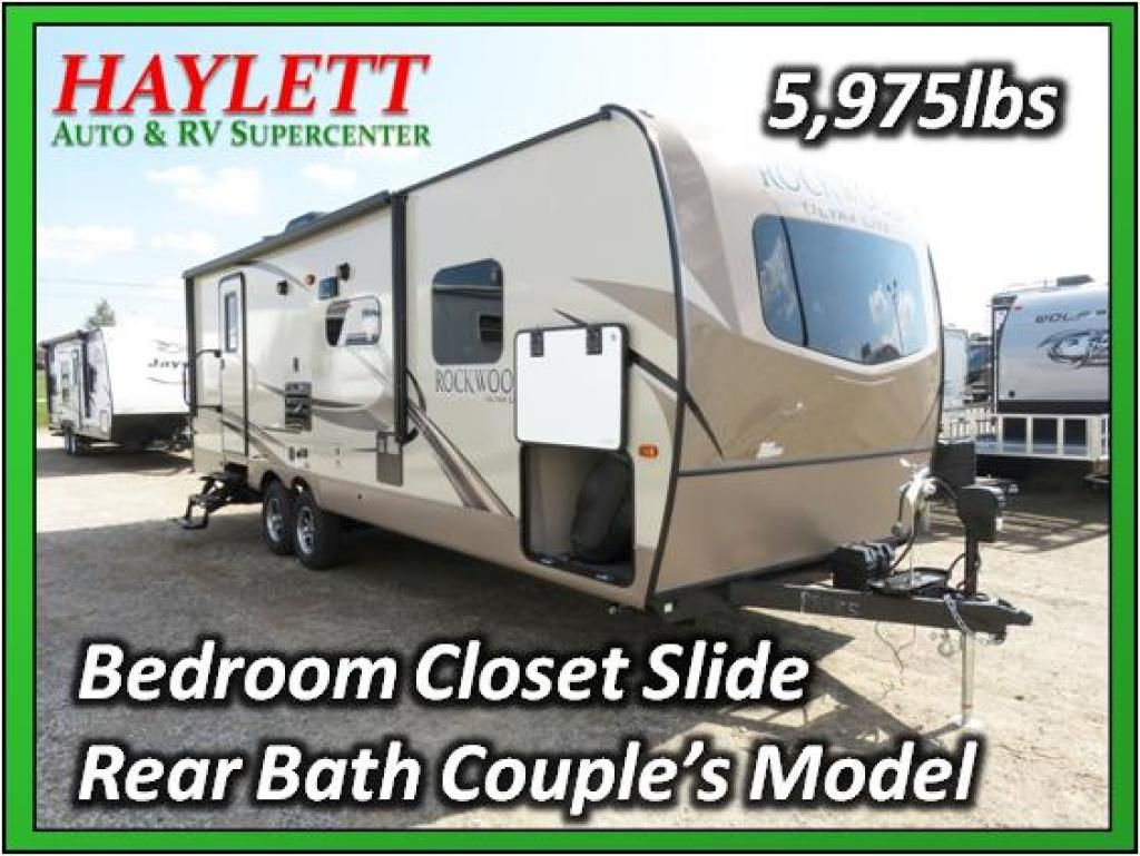 2018 Forest River Rockwood Ultra Lite 2606ws Travel Trailer Coldwater Mi Haylett Auto And Rv Supercenter Coldwater Mi Rv Sales Rv For Sale Rv Rv Dealers