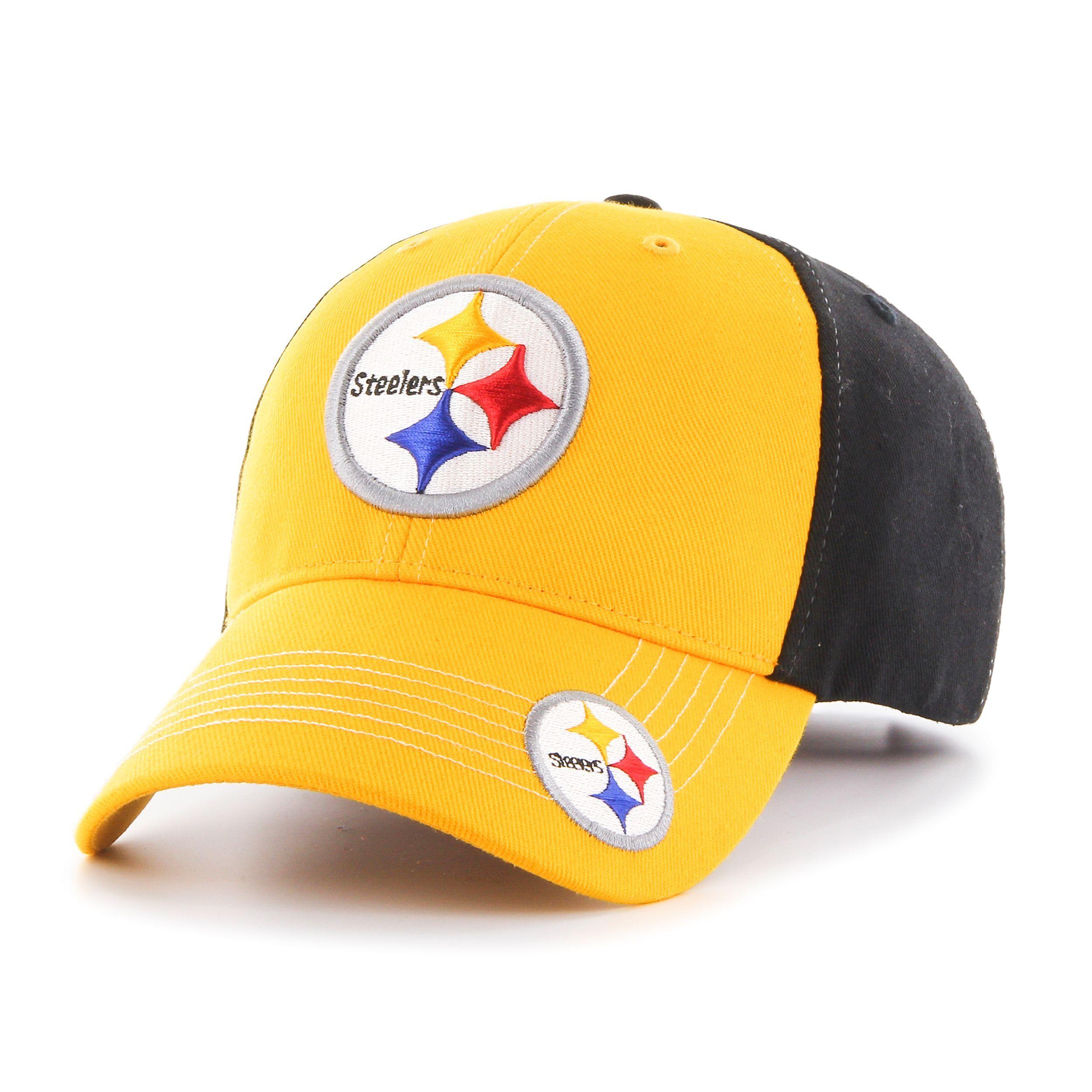 hot sale online e264b 8e496 47 Brand Pittsburgh Steelers NFL Revolver Hat