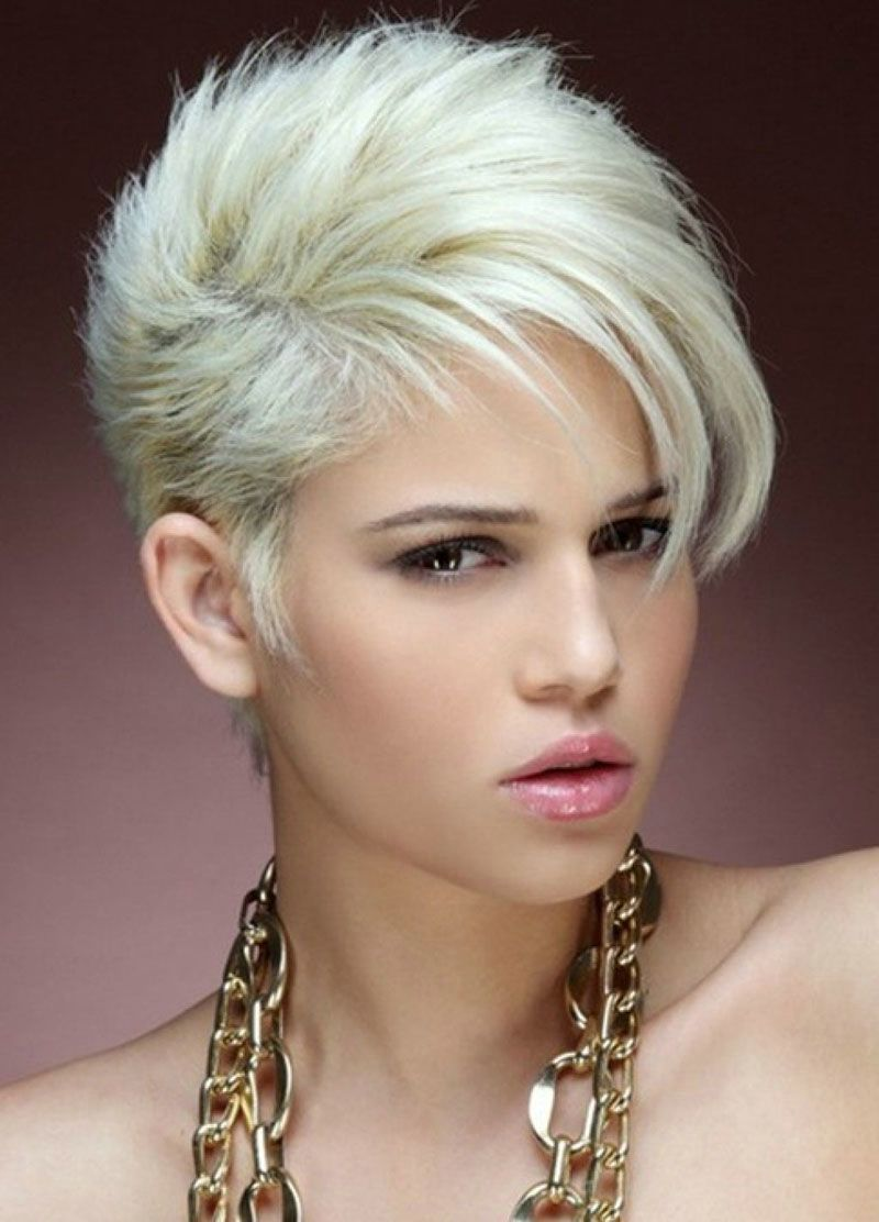Short Edgy Pixie Hairstyles Hair In 2019 Short