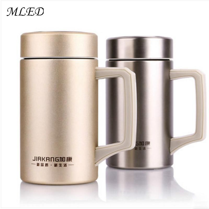 Travel Steel 500ml Mug Vacuum Office Thermo Stainless Thermos yN80PnmOvw