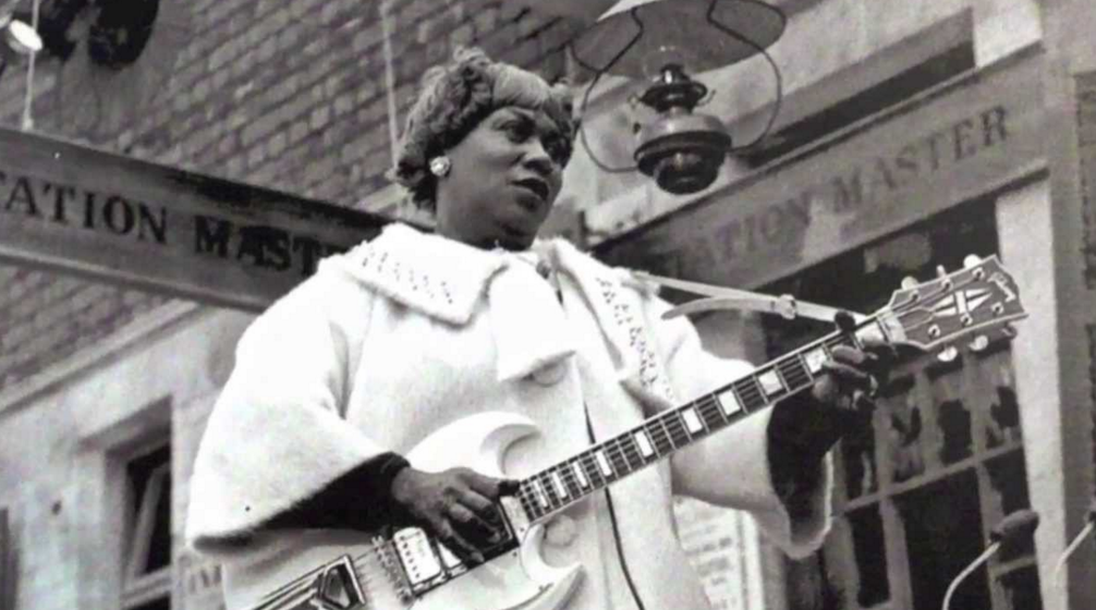"You could be forgiven if you've never heard the name Sister Rosetta Tharpe—or if you're surprised to hear that to many, she's considered ""the Godmother of Rock and Roll."" Sister Rosetta might not be a"