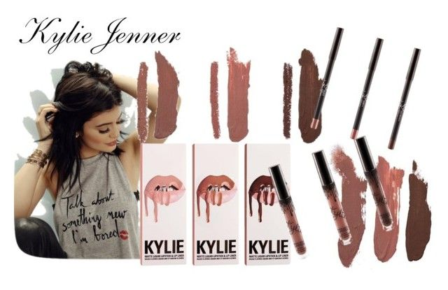 """Kylie Jenner Lip Kit"" by ghoulfriend101 ❤ liked on Polyvore featuring beauty"