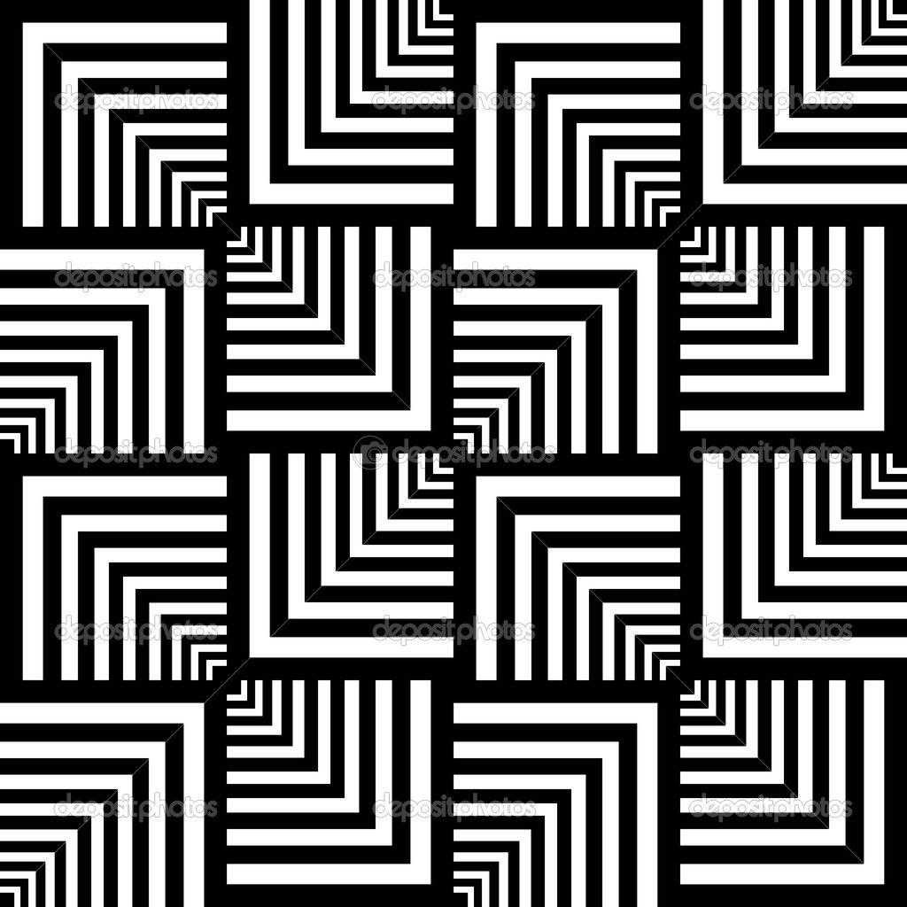 Seamless Op Art Pattern Geometric Texture Musterkunst Kunstquilt Kunst Arbeitsblatt