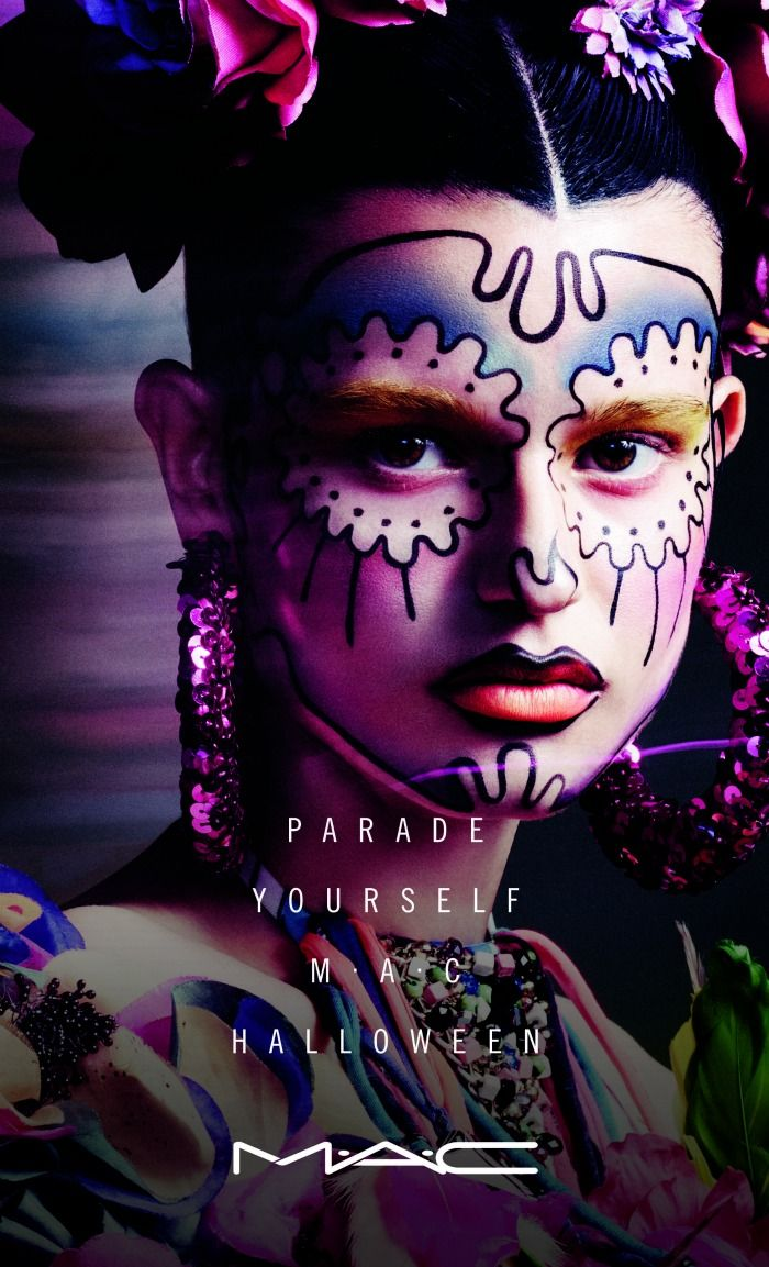 Parade Yourself MACHalloween Halloween makeup