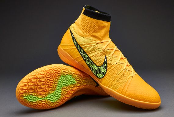 c8feedffcf7 ... Nike Elastico Superfly Indoor - Laser Orange Volt Black  Nike Elastico  Superfly TF Turf Soccer Shoes ...