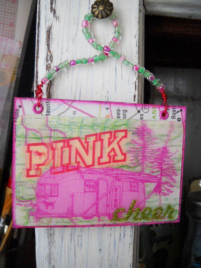 Pink victorias secret gift card hanging atc victoria