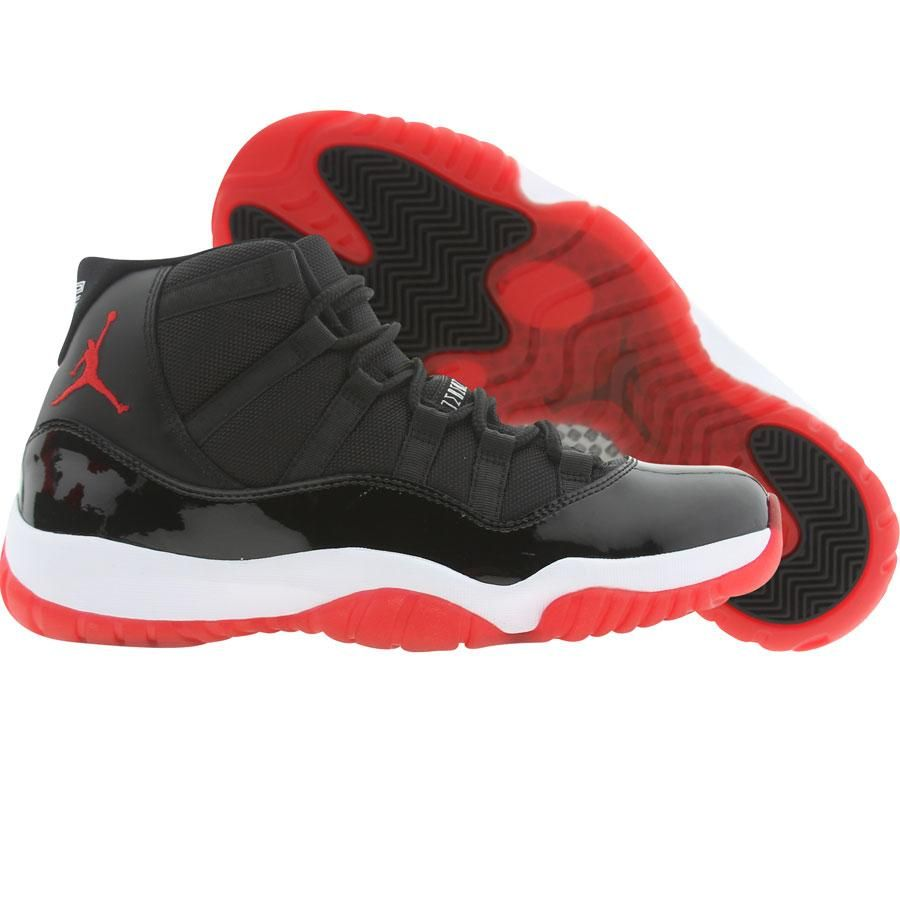 jordan retro 11 big kids red