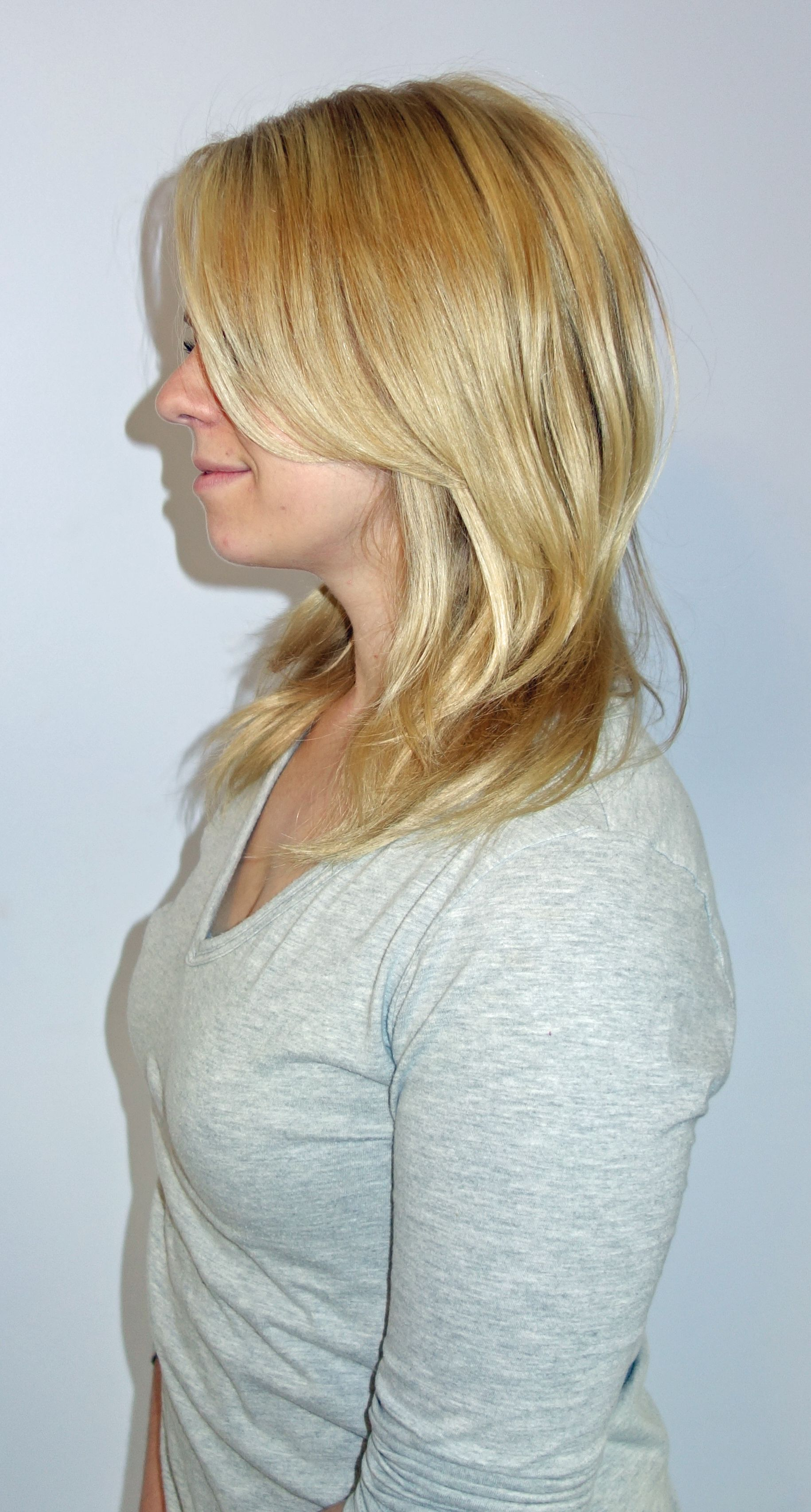 Before Hotheads Hair Extensions By Rhonda At Roca Salon Spa In