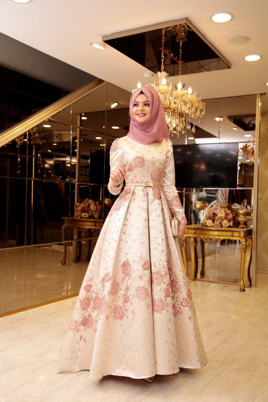 Pinar Sems Tesettur Abiye Modelleri Elbise Victorian Elbiseler Resmi Elbise