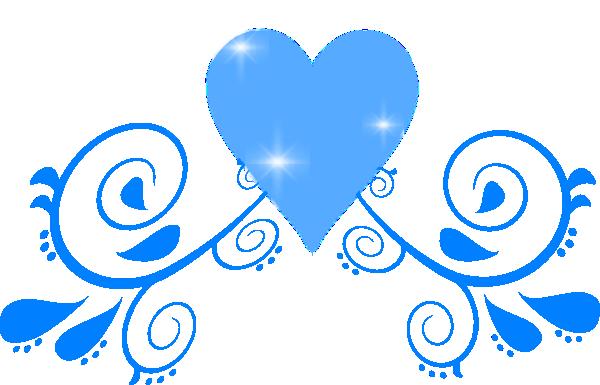 free wedding flourish clip art blue blue heart swirl clip art rh pinterest com