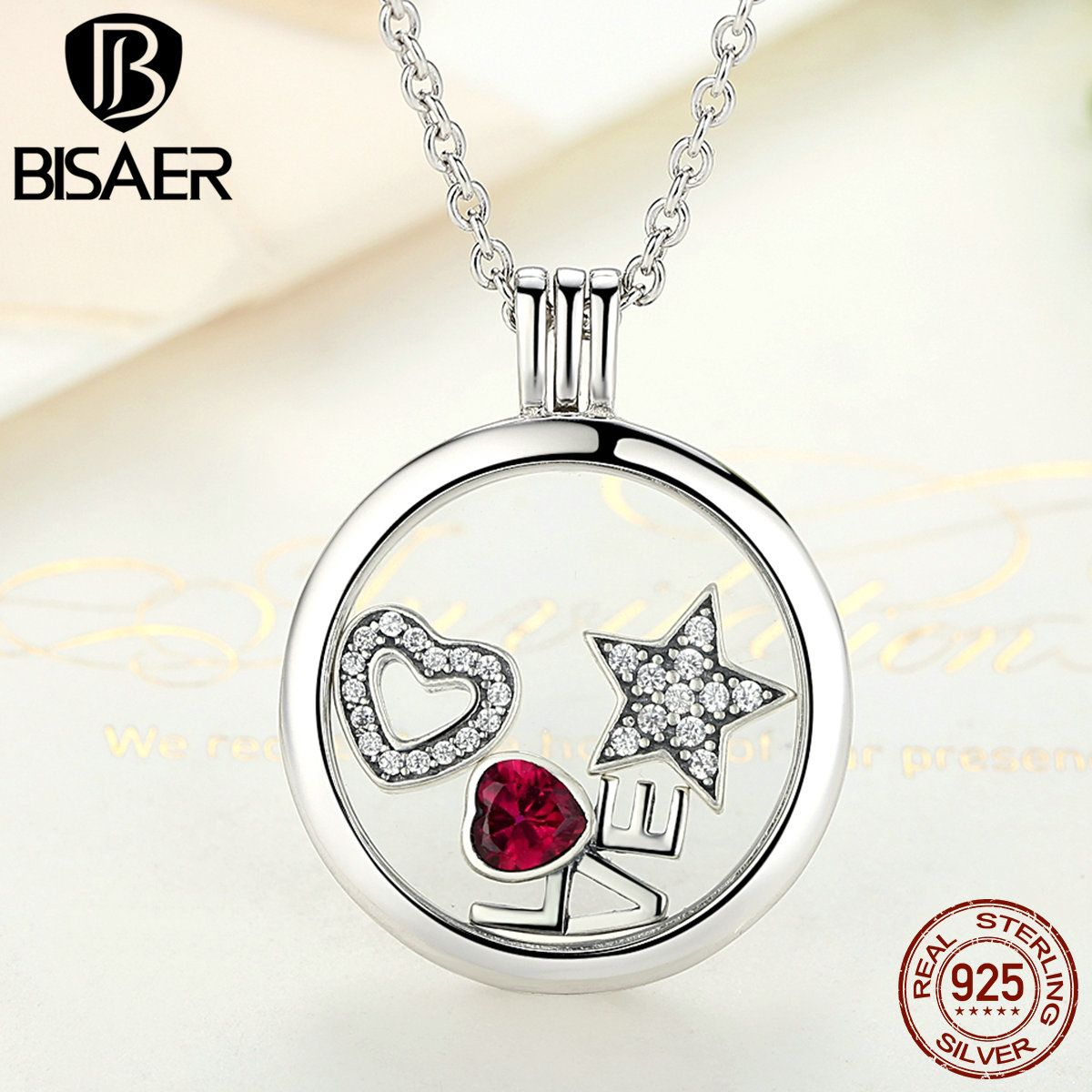 Memory pendant necklace genuine 100 925 sterling silver medium memory pendant necklace genuine 100 925 sterling silver medium floating locket necklaces pendants jewelry aloadofball Image collections