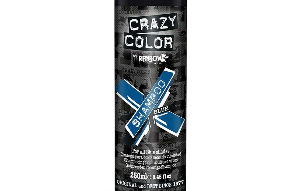 Crazy Color Colour Protecting Shampoo For Blue Hair Crazy Mode Von