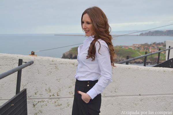 Cómo combinar un pantalón culotte, una de las tendencias del momento