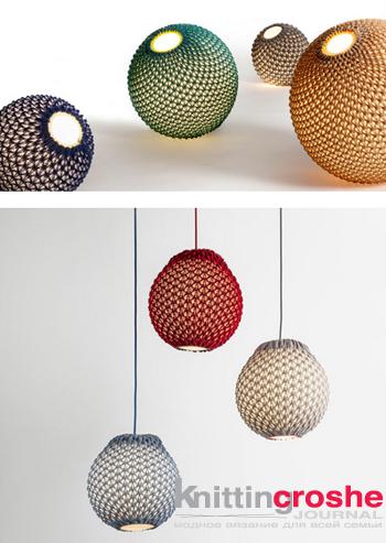 вязаные абажуры схемы Abats Jour Au Crochet вязание дом 및