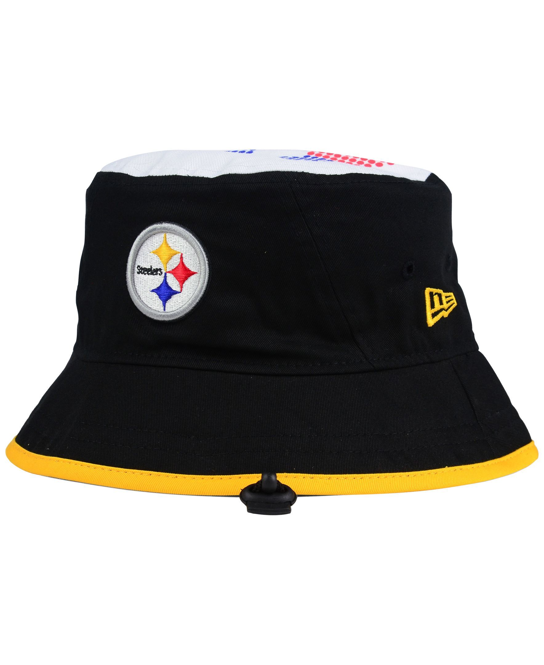 New Era Pittsburgh Steelers Traveler Bucket Hat  aee92d7fd