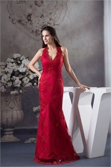 Red Mermaid Wedding Guest Special Occasion Dress  sunsdress.com  #sunsdress   newcelebritydresses.com  #newcelebritydresses