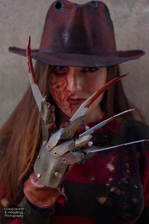 Freddy krueger female cosplay