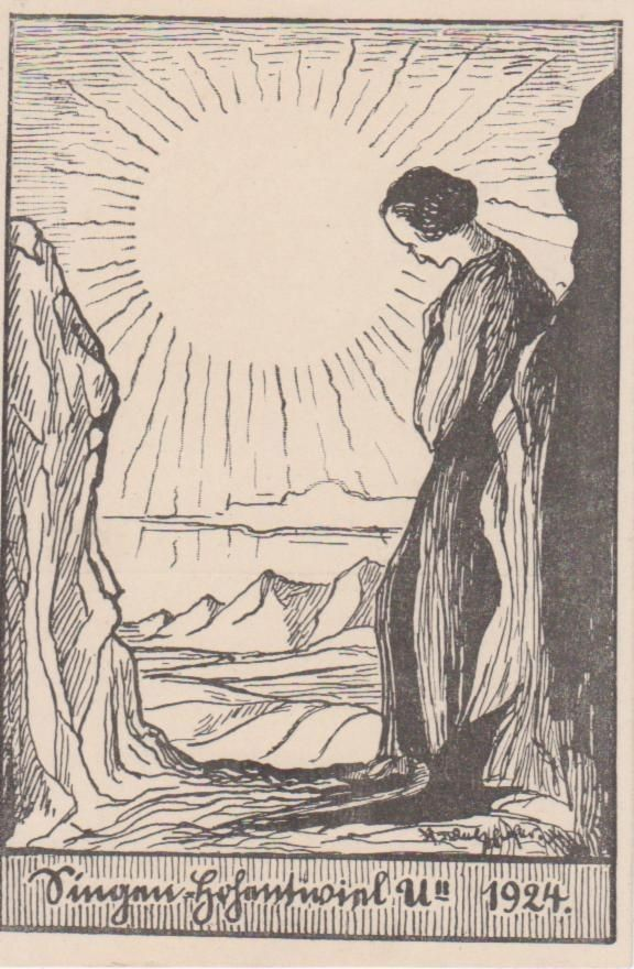 Singen Hohentwiel 1924 Künstlerkarte NGL 206 776 | eBay