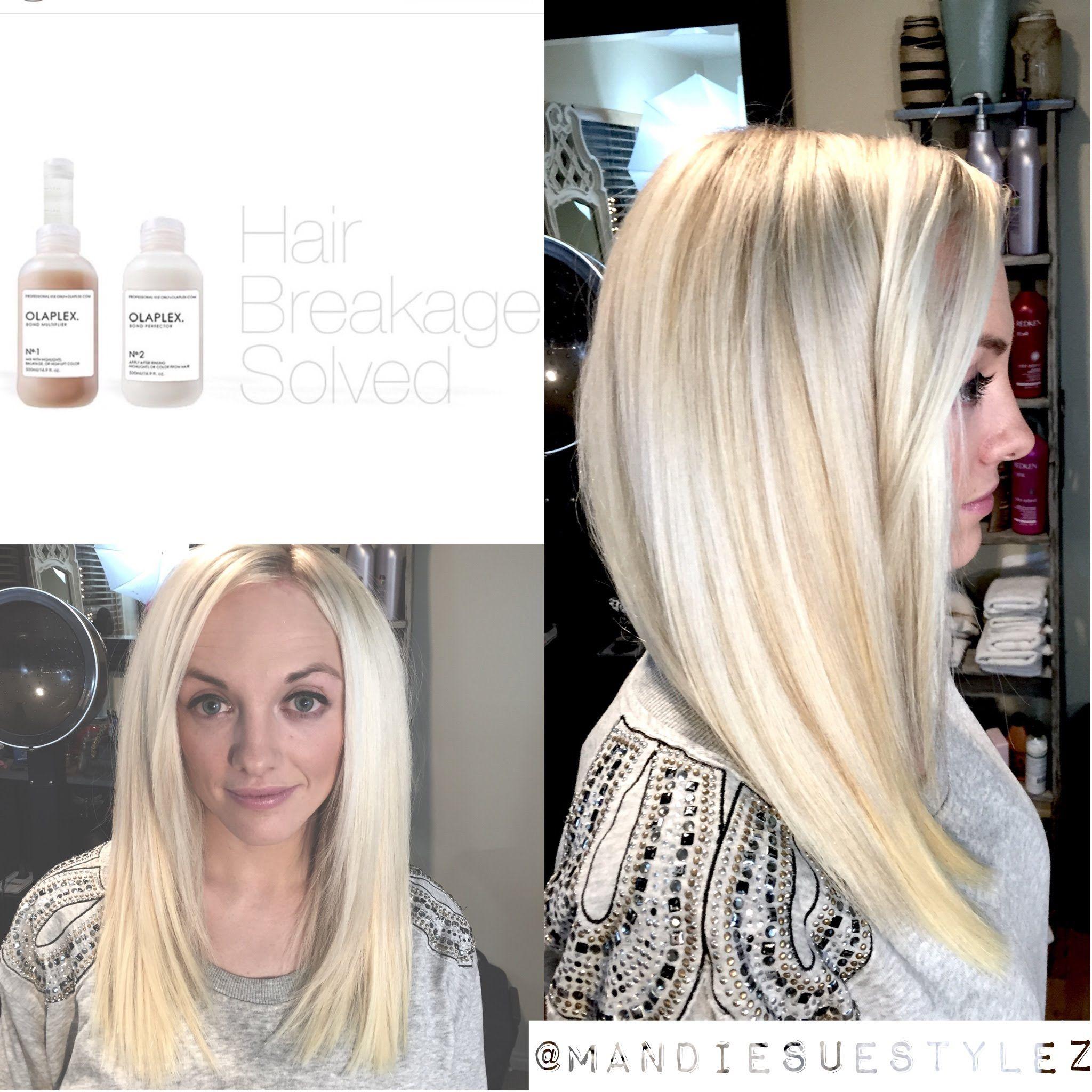 Olaplex Tutorial Platinum Blonde No Breakage Hair Inspo