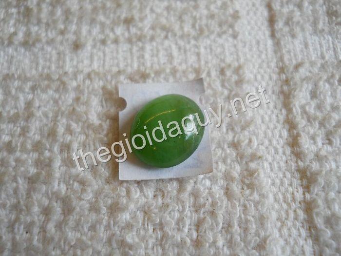 Mặt nhẫn đá Ngọc Bích - trang sức đá ngọc Nephrite Thegioidaquy.net