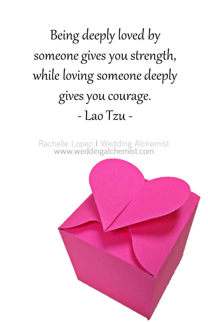 Favorite wedding quotes and love quotes by Lao Tzu for the bride and ...
