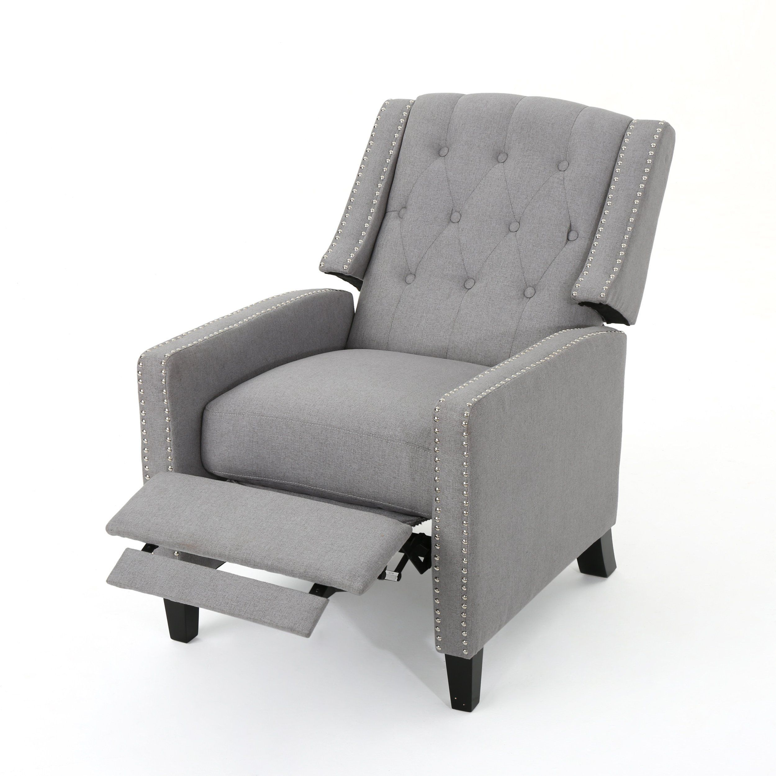 izaak tufted back fabric recliner chair recliner and products