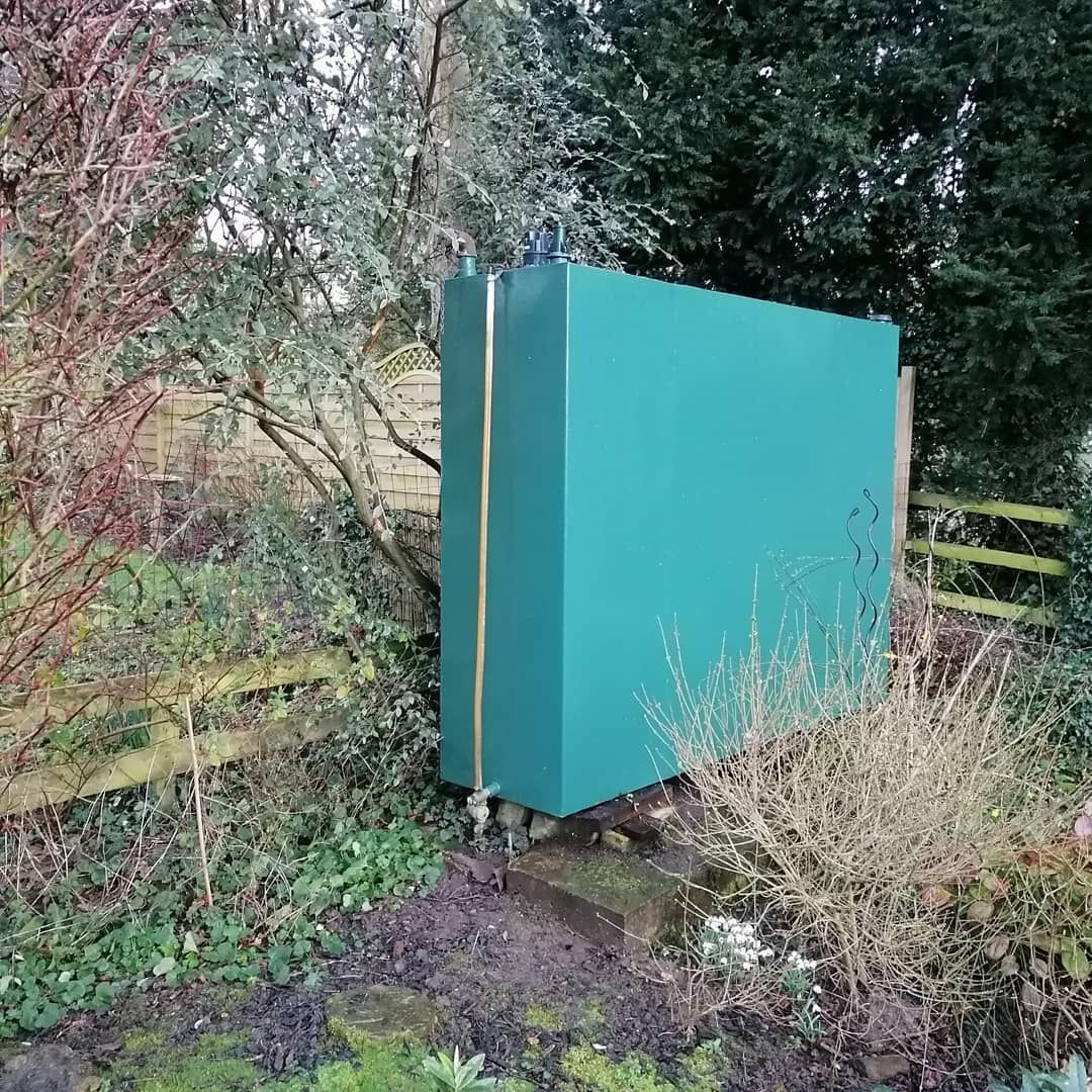 Domestic Heating Oil Tank Decommissioned And Removed From Site For Disposal In 2020 Oil Storage Heating Oil Storage Tanks